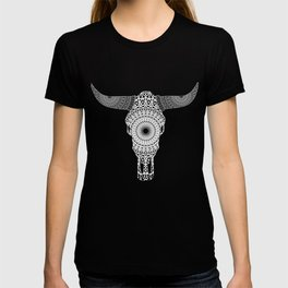Mandala Bull Skull T-shirt