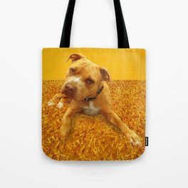 CHENiLLE (shelter pup) Tote Bag