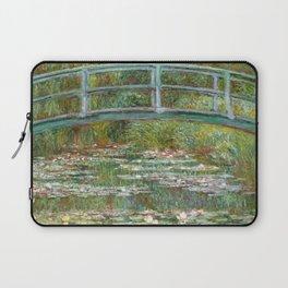 "Claude Monet ""Bridge over a Pond of Water Lilies"" Laptop Sleeve"