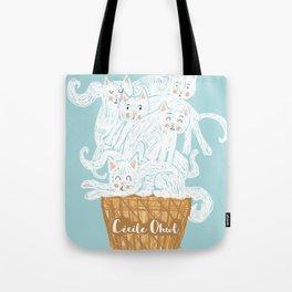 Ice cat (cream) Tote Bag