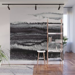 WITHIN THE TIDES BURNISH BLACK by Monika Strigel Wall Mural