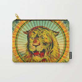 Tiger Fez Label Carry-All Pouch