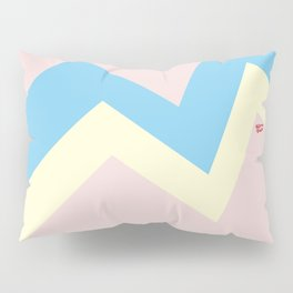 PASTEL EASTER EGG I #minimal #art #design #easter #egg #kirovair #buyart #decor #home Pillow Sham