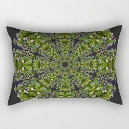 Torenia Mandala Rectangular Pillow