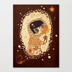 The Little Match Girl 卖火柴の小女孩 Canvas Print