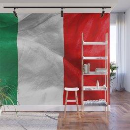 Italian Flag Wall Mural
