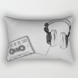 Music, please! Rectangular Pillow
