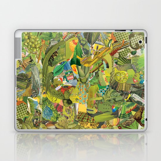 Green Laptop & iPad Skin