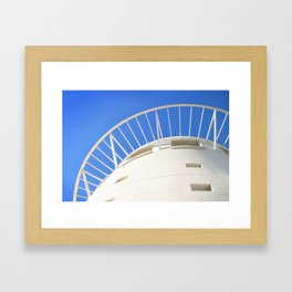 Pacific Mall Tower Framed Art Print