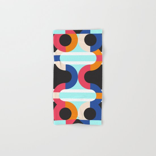 Geometric#17 Hand & Bath Towel