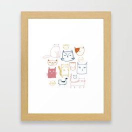 CATS Framed Art Print