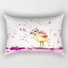 Little chick Rectangular Pillow