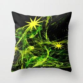 Star Squirt Throw Pillow