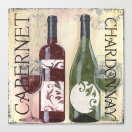 Transitional Wine 2 Canvas Print