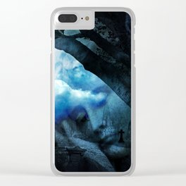 She Sleeps By Annie Zeno Clear iPhone Case
