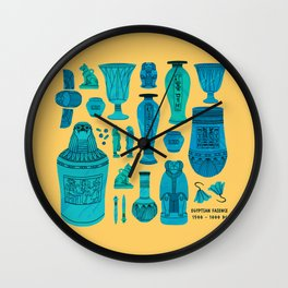 Egyptian Faience Wall Clock