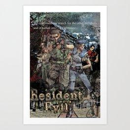 Arklay Nightmare Art Print
