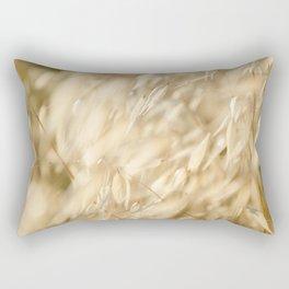 Soft Golden Field 2 Rectangular Pillow