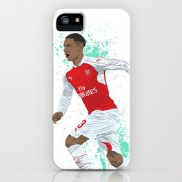 Kieran Gibbs - Arsenal FC iPhone Case