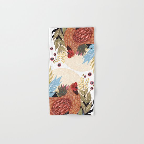 Spring Chicken Hand & Bath Towel