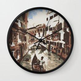 Venice Italy Wall Clock
