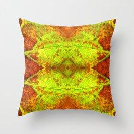 Macro Leaf no 5 Throw Pillow