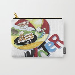 new year party table Carry-All Pouch