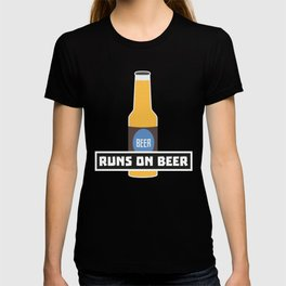 Runs on Beer T-Shirt for all Ages D7ta2 T-shirt