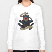 the who Long Sleeve T-shirts featuring Who? by Michael B. Myers Jr.