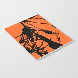 Orange Base black Notebook