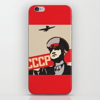 soviet iPhone & iPod Skins featuring SOVIET RED ARMY by Sofia Youshi