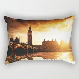 london reflections Rectangular Pillow