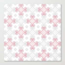 Valentine pattern 3 Canvas Print