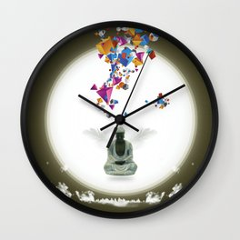 Priere Wall Clock
