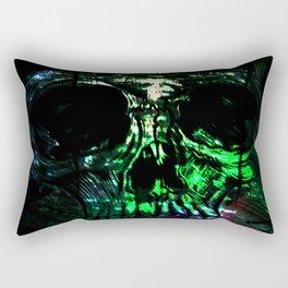Toxic Love - Sugar Skull Rectangular Pillow