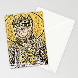 Zoe, detail of The Empress Zoe mosaics (11th-century) in Hagia Sophia (Istanbul, Turkey Stationery Cards