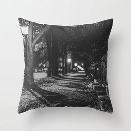 Urban / Streetlight / Night / Photography Throw Pillow