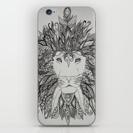 King of Lions iPhone Skin