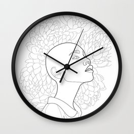In the Eye of the Beholder Wall Clock