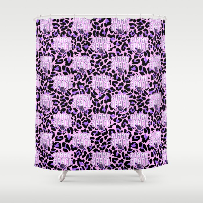 Gimme space II Shower Curtain