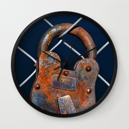 NY INSANE ASYLUM Wall Clock