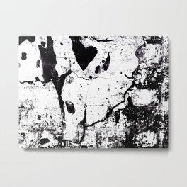 The Heart Wall Metal Print