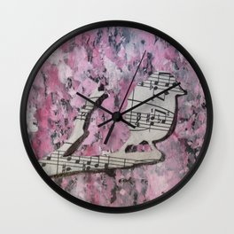 Song Bird Wall Clock