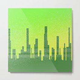 Jaded City Metal Print
