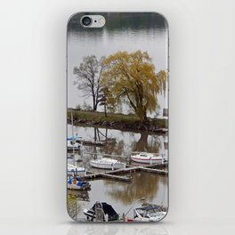 Weeping Willow and the Marina iPhone Skin