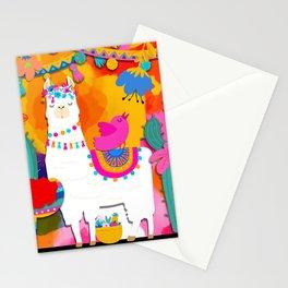 Fiesta Llama Stationery Cards