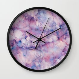 Texture Marble effect Wall Clock
