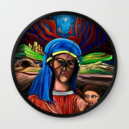 Our Mother of Humility Wall Clock