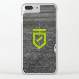 The Odder Site Football Clear iPhone Case