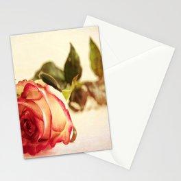 Pink Rose Stationery Cards